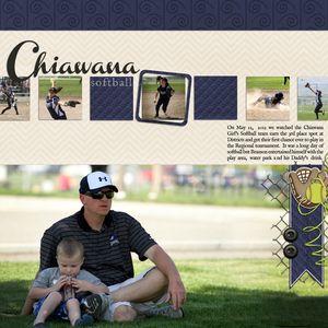 Chiawana_Softball