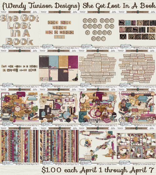 More Great Templates (and Kits) from Wendy Tunison Designs!